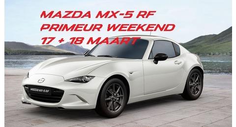 Mazda Mx5 RF Primeur weekend